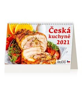 Table calendar Česká kuchyně 2021