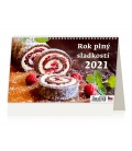 Table calendar Rok plný sladkostí 2021