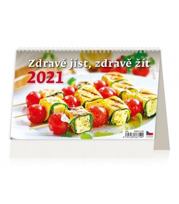 Table calendar Zdravě jíst, zdravě žít 2021