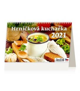 Table calendar Hrníčková kuchařka 2021
