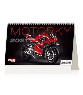 Table calendar Motorky ČR/SR 2021