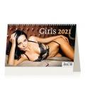 Table calendar Girls ČR/SR 2021