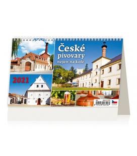 Table calendar České pivovary nejen na kole 2021