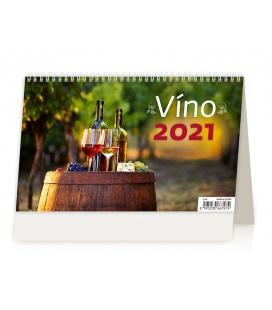 Table calendar Víno ČR/SR 2021