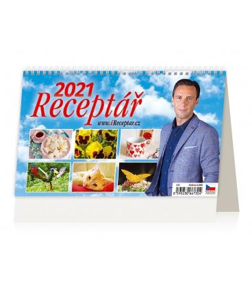 Table calendar Receptář 2021