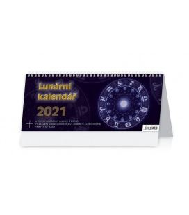 Table calendar Lunární kalendář 2021