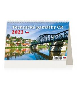 Table calendar Technické památky ČR 2021
