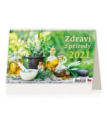 Table calendar Zdraví z přírody 2021