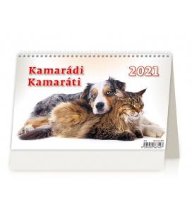Table calendar Kamarádi/Kamaráti 2021