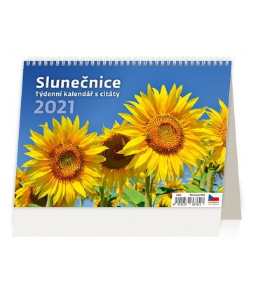 Table calendar Slunečnice 2021