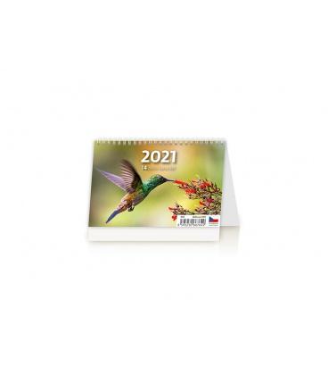 Table calendar MINI 14denní kalendář 2021