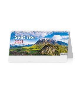 Table calendar Svět hor 2021