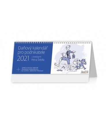 Table calendar Daňový kalendář pro podnikatele 2021