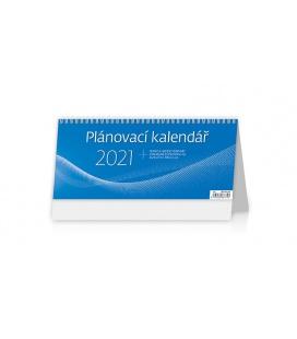 Table calendar Plánovací kalendář MODRÝ 2021