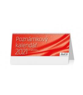 Table calendar Poznámkový kalendář OFFICE 2021