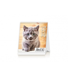Table calendar Mini Kittens 2021