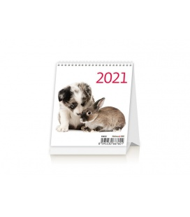 Table calendar Mini Pets 2021