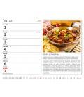 Table calendar MiniMax Česká kuchyně 2021