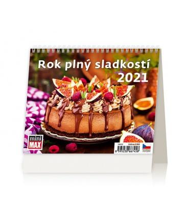 Table calendar MiniMax Rok plný sladkostí 2021