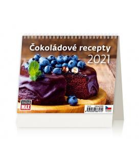 Table calendar MiniMax Čokoládové recepty 2021
