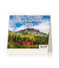 Table calendar MiniMax České a slovenské hory 2021
