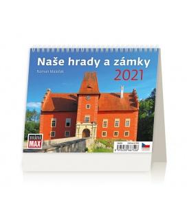 Table calendar MiniMax Naše hrady a zámky 2021