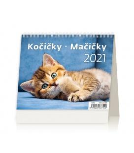 Table calendar MiniMax Kočičky/Mačičky 2021