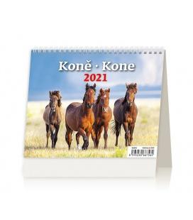 Table calendar MiniMax Koně/Kone 2021