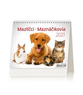 Table calendar MiniMax Mazlíčci/Maznáčikovia 2021