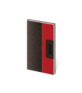 Weekly Pocket Diary Classic black, red 2021