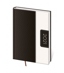 Daily Diary A5 Erie black, white 2021