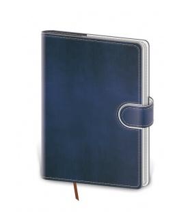 Weekly Pocket Diary Flip blue, white 2021