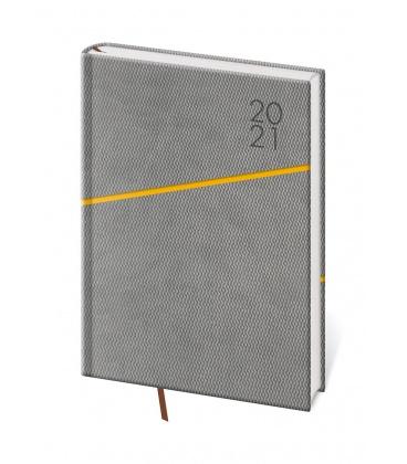 Daily Diary A5 Grife grey, orange 2021