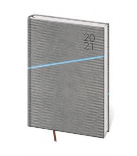 Daily Diary A5 Grife grey, blue 2021