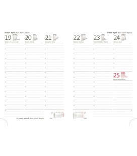 Replacement Diarium - diary Flip A5 L-423 weekly 2021