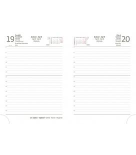 Replacement Diarium - diary Flip B6 M-432 daily 2021