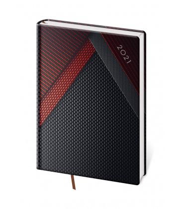 Daily Diary A5 Vario - Black design 2021