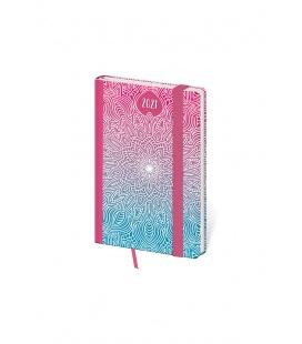 Weekly Pocket Diary Vario - Mandala s gumičkou 2021