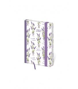 Weekly Pocket Diary Vario - Lavender s gumičkou 2021