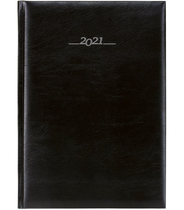 Daily Diary A4 Titan black 2021