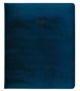 Diary President weekly A4 Atlas blue 2021