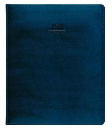 Diary President weekly A4 Atlas blue 2021