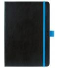 Daily Diary A5 Nero black, blue 2021