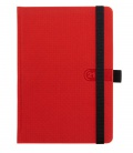 Daily Diary A5 Trendy red, black 2021