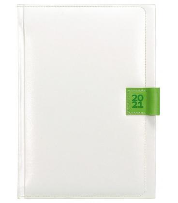 Daily Diary A5 Nody white, green 2021