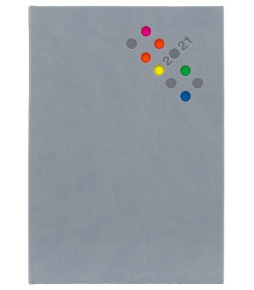 Daily Diary A5 Berry grey 2021