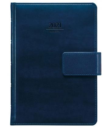Daily Diary A5 Atlas s poutkem blue 2021