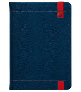 Weekly Diary A5 Inverso blue, red 2021