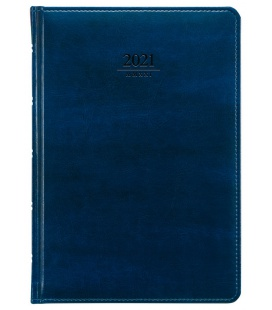 Weekly Diary A5 Atlas blue 2021