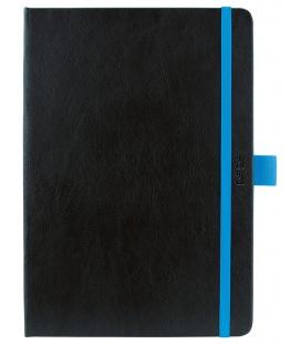 Weekly Diary A5 poznámkový Nero black, blue 2021
